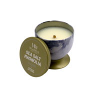 WoodWick Sea Salt Magnolia - Artisan Gallerie Candle