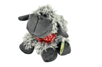 Sheep Toy Grey W/Bandana