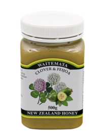 Waitemata Clover Honey & Feijoa