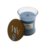Woodwick Sea Salt & Cotton Candle- Medium