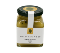 Wild Country Lemon Passion Curd 220g