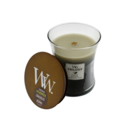 Woodwick Warm Woods Trilogy Candle - Medium