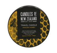 NZ Travel Candle - Mānuka Honey