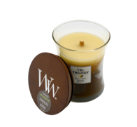 Woodwick Café Sweets Trilogy Candle - Medium
