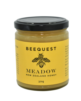 BeeQuest Meadow Honey 370g