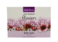 New Zealand Flowers Bath Salts Sachet 50g
