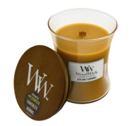 Woodwick Sea Salt Caramel Candle - Medium