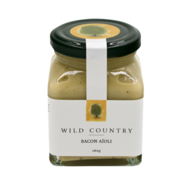 Wild Country Bacon Aioli 180g