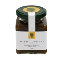 Wild Country Beetroot Burger Chutney 200g