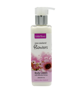 New Zealand Flowers Body Lotion 240ml