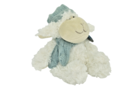 Sheep w Blue Hat & Scarf