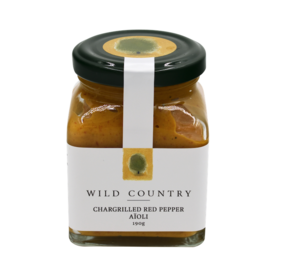 Wild Country Chargrilled Red Pepper Aioli 190g