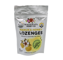 Waitemata Mānuka Honey Lozenges with Lemon & Menthol 12