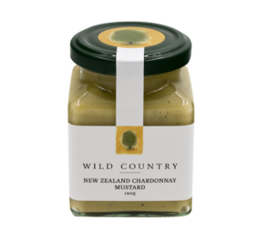 Wild Country New Zealand Chardonnay Mustard 190g