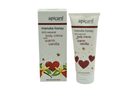 Apicare Body Creme with Warm Vanilla 200g