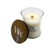 Woodwick White Tea & Jasmine Candle - Medium