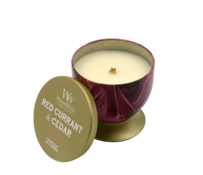 WoodWick Red Currant & Cedar - Artisan Gallerie Candle