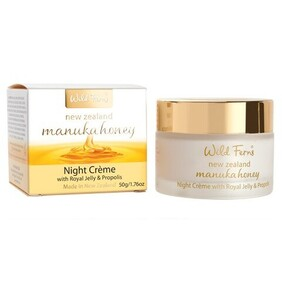 Manuka Gold Night Creme with Royal Jelly & Propolis 50g