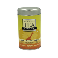 Kerikeri Lime & Manuka Green Organic Herbal Infusion Tea