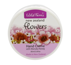 New Zealand Flowers Hand Crème with Mānuka Honey 85ml