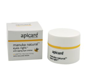 Apicare Mānuka Natural Eyes Right Anti-Aging Eye Cream 30g