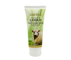 Lanolin Foot and Heel Balm with Mānuka Oil & Aloe Vera 100ml