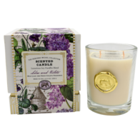 Lilac and Violets Scented Candle 255g